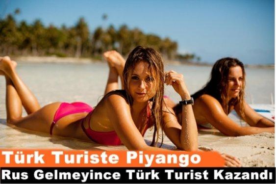 Rus Turist Gelmeyince Türk Turiste Tatil Piyangosu Çıktı!