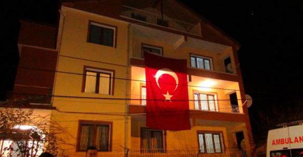 Şehidin Ankara'daki Baba Ocağına Ateş Düştü