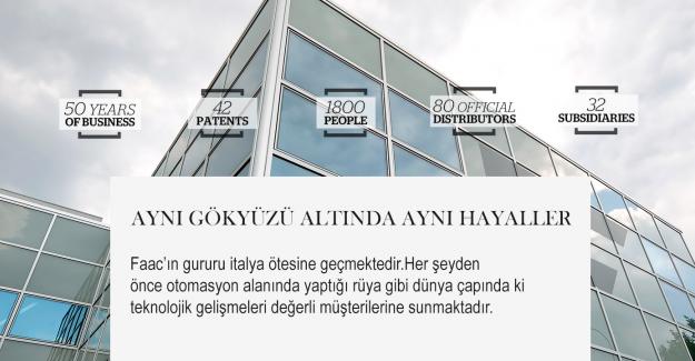 Sektöründe Lider Firma Faac Türkiye