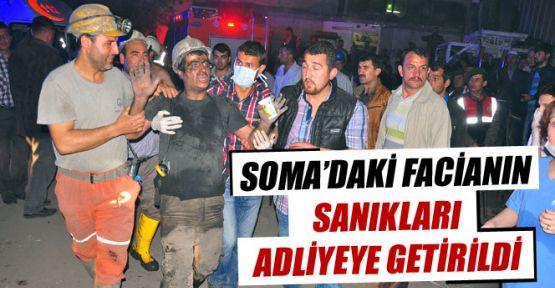 SOMA 8 Tutuklu Mahkemeye Getiridli