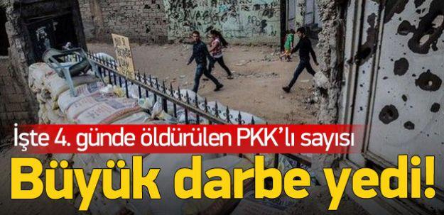 Süpürme Harekatının 4. Gününde PKK'ya Ağır Darbe! 60'tan Fazla Ölü