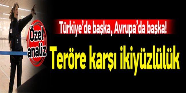 Terör Saldırılarında Çifte Standart! Türkiye'ye Ayrı Avrupa'ya Ayrı!