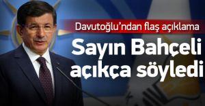 Davutoğlu-Bahçeli Görüşmesi Sona Erdi! Koalisyon Olacak mı! İşte Detaylar