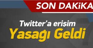 Twitter Neden Kapatıldı! Twitter'a Erişim Yasağı Geldi