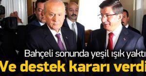 Bahçeli'den CHP'ye Salvo: Ak Partiye Karşı Olanlar Ak Partiyle Hükümet Kurma Çabasındalar