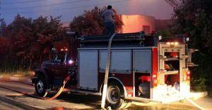 Darülacze'de Korkutan Yangın! 1 Kişi Hayatını Kaybetti!