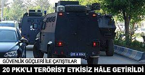 Yüksekova'da Dev Operasyon! 20 Terörist Etkisiz Hale Getirildi