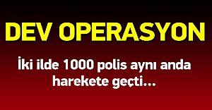 İstanbul ve Adana'da Uyuşturucu Baronlarına Dev Operasyon!