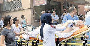 İstanbul Üniversitesi Cerrahpaşa Tıp Fakültesinde Yangın!