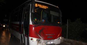 İzmir'de Belediye Otobüsüne Molotoflu Saldırı