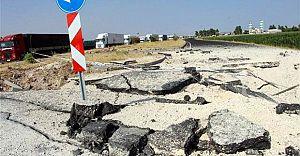 Nusaybin'de Uluslararası İpek Yolu PKK Tarafından Havaya Uçuruldu