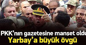 Türk Yarbayın Başkomutanına Hakareti PKK'nın Gazetesine Manşet Oldu