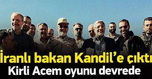 Ülkelerindeki Bütün Kürtleri Dar Ağacına Asan İRAN, Kirli Tezgah İçin KANDİL'e Gitti