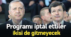 Cumhurbaşkanı ve Başbakan Konya Seyahatlerini İptal Ettiler