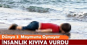 bspan style=color:#0000ffİnsanlık Kıyıya Vurdu! Dünya Kamuoyu.../span/b