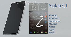 Nokia'nın İlk Android Telefonu C1 Gün Yüzüne Çıktı!!