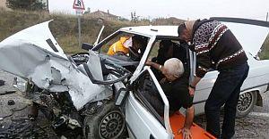 Bolu'da Trafik Kazası 5 Yaralı!