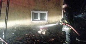 Bolu'da Yangın! İki Ev Kül Oldu