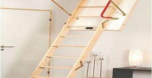 Ahşap Çatı Merdivenleri