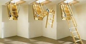 Katlanır Çatı Çıkış Merdiveni