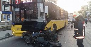 Kadıköy'de Feci Kaza: 1 Ölü 3 Yaralı