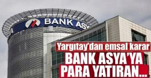 Yargıtay Bank Asyaya Para Yatıranlar...