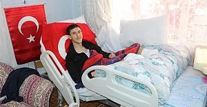 Afrin'de Bacaklarını Kaybeden Asker: Ayaklarımın Olmadığını…