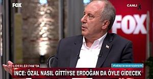 """Muharrem İnce`den Skandal Sözler! """"Özal Nasıl Gittiyse Öyle Gidecek"""""""
