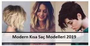 Modern Kısa Saç Modelleri 2019