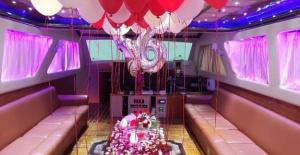 Tekne'de Doğum Günü Organizasyonu