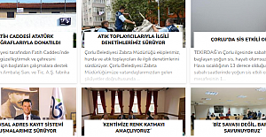 Haberin İlk Adresi: Gazete Çorlu