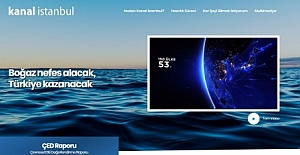 Kanal İstanbul#039;un internet sitesi...