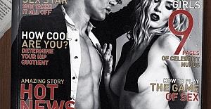 Ünlü Model Lucifer Michaelson Playboy Dergisi'ne Kapak Oldu!