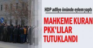 Ağrı'da Mahkeme Kurup Vatandaş Yargılayan 6 PKK'lı Tutuklandı