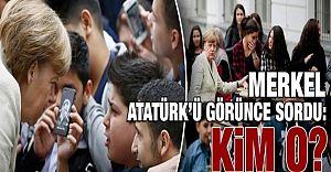 Angela Merkel Türk Öğrenciye Atatürk'ü Sordu!