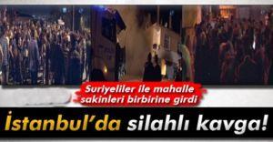 Ataşehir'de Suriye'liler İle Halk Çatıştı Bölge Gergin!