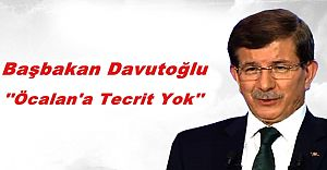 Başbakan Davutoğlu, Öcalan Hakkında Konuştu!