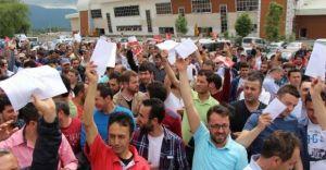 Bolu'da Arçelik İşçileri Topluca İstifa Ettiler