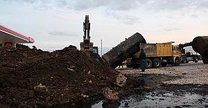 Bolu Gerede'de Kazdıkça Yerin Altından Tanker Çıktı