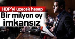 Bu Hesaplar HDP'nin Planlarını Bozacak! 1 Milyon Oy Lazım!