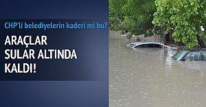 Chp'li Belediyelerin Kaderi mi Bu! Çerkezköy Sular Altında!