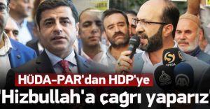 Hüda Par'dan HDP'yi Şoke Edecek Çağrı!