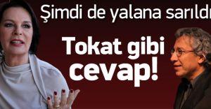 Hülya Koçyiğit'ten Cumhuriyet Gazetesi ve Can Dündar'a Tokat Gibi Yanıt