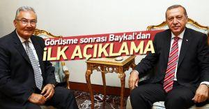 İşte Erdoğan Baykal Görüşmesinin Detayı