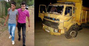Ödemiş Kazasında Kamyonun Çarptığı 2 Motosikletli Genç Vefat Ettiler!