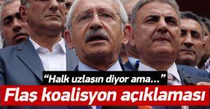 Kılıçdaroğlu'ndan Flaş Koalisyon Beyanı!