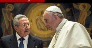 Küba Devlet Başkanından PAPA'ya ABD Teşekkürü