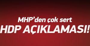 MHP'li Vekil'in HDP İçin Söylediği Sözler Kavgada Bile Söylenmez! Şok Olacaksınız!
