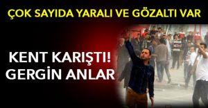 o İlde Büyük HDP Gerginliği Çok Sayıda Yaralı ve Gözaltı Var