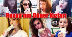 Rus Kızları Döner Yiyiyor ABD'yi Çıldırtıyor!İşte SICACIK Görüntüler